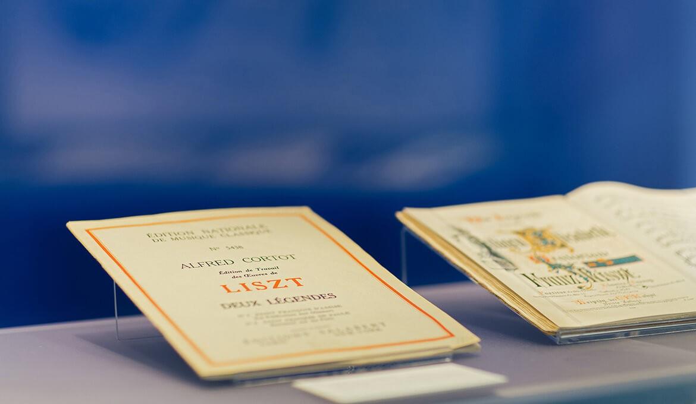 Állandó kiállítás a Liszt-házban, Foto: © Heiling / Lorenz